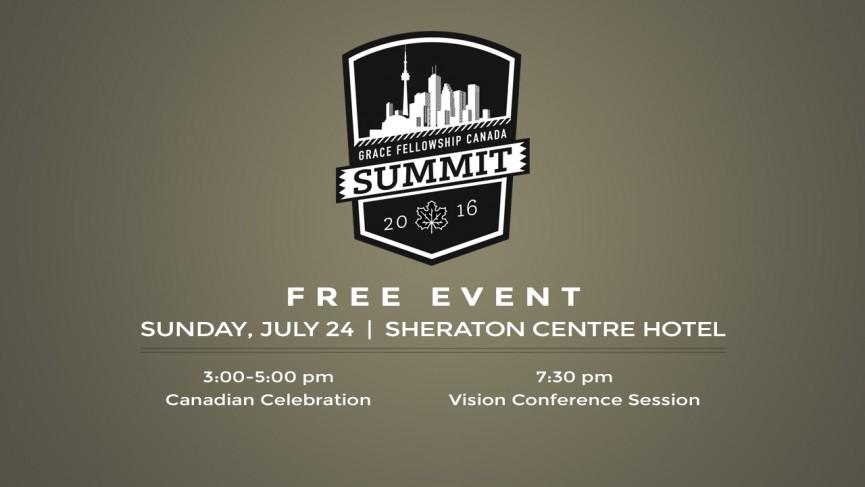 Grace Fellowship Canada Summit