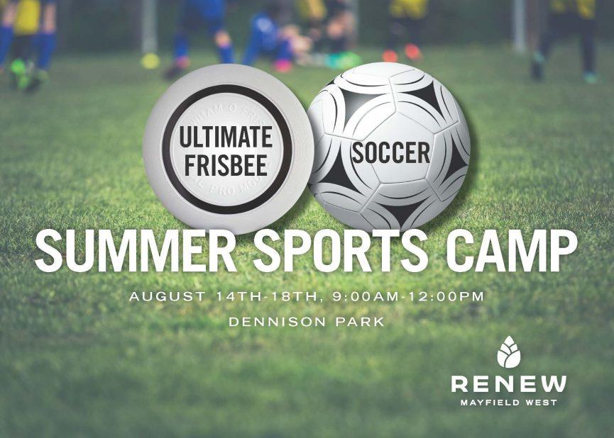Mayfield West Summer Soccer Camp