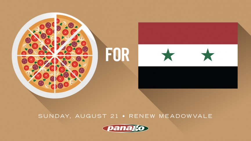 Pizza for Syria