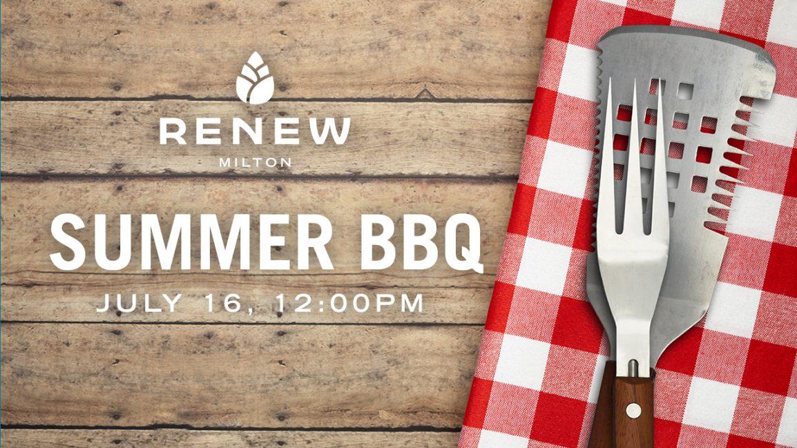 Renew Milton Summer BBQ