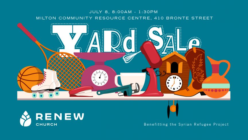 Renew Milton Yard Sale