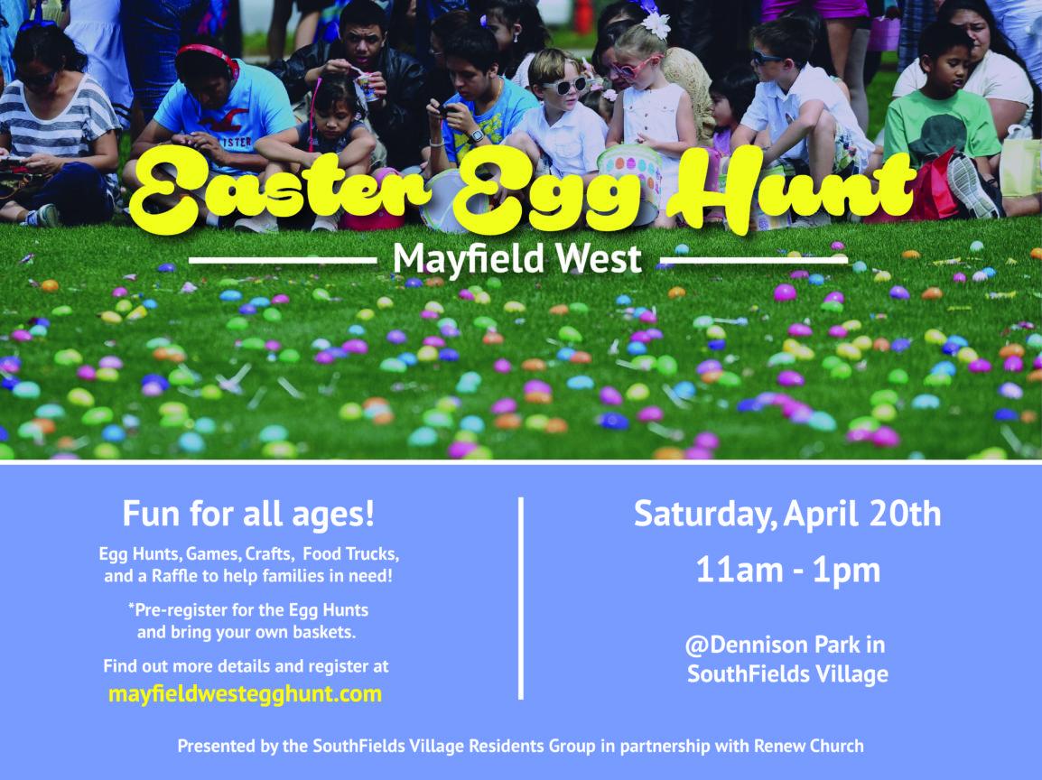 Mayfield West Easter Eg Hunt