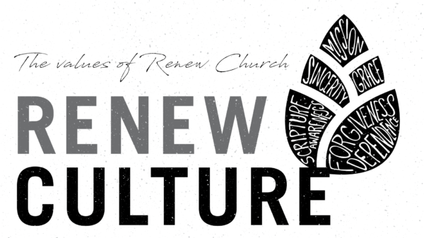 Renew Culture: Grace & Forgiveness Image