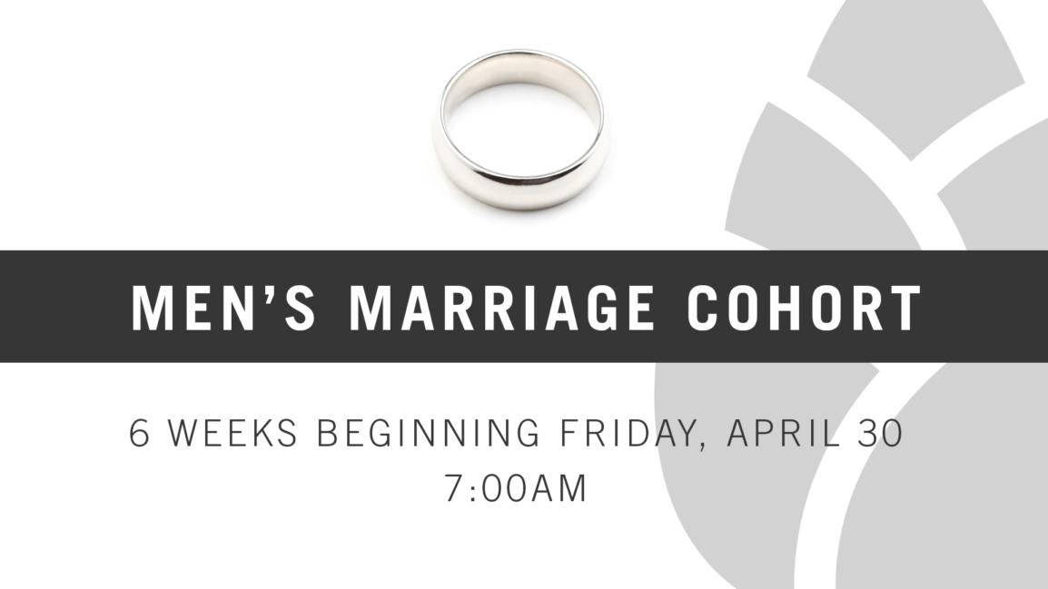 Men's Marriage Cohort